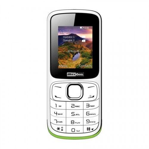 MaxCom MM129 mobiltelefon - fehér