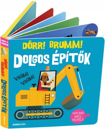 Hangzós könyvek - Dolgos építők - Dörr! Brumm! -  pdf epub