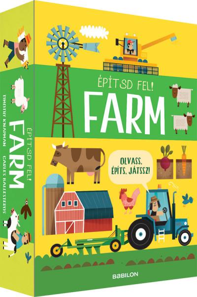Építsd fel! Farm - Olvass, építs, játssz! - Timothy Knapman pdf epub