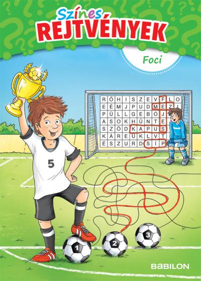 Színes rejtvények - Foci - 6 éves kortól - Stefan Lohr pdf epub