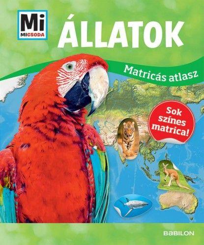 Állatok - Mi Micsoda matricás atlasz