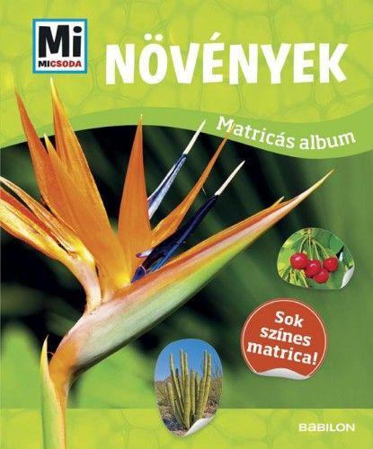 Növények - Mi Micsoda matricás atlasz -  pdf epub