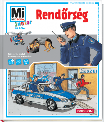 Rendőrség - Mi MICSODA Junior -  pdf epub