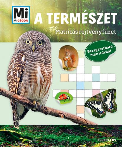 Mi MICSODA Matricás rejtvényfüzet - A természet -  pdf epub