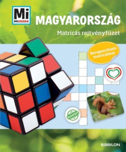 Mi Micsoda - Magyarország - Matricás rejtvényfüzet