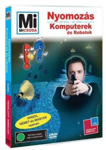 Nyomozás - Komputerek és robotok DVD