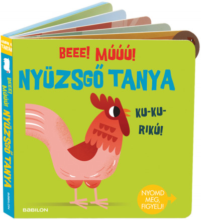 Hangzós könyvek - Nyüzsgő tanya - Beee! Múúú! -  pdf epub