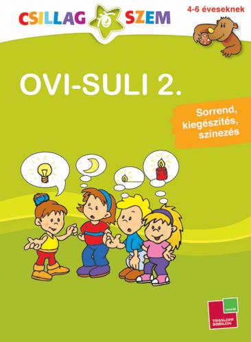 Ovi-suli 2. Sorrend, kiegészítés, színezés