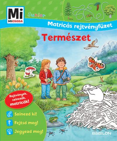 Természet - Mi Micsoda Junior Matricás rejtvényfüzet - Tatjana Marti pdf epub