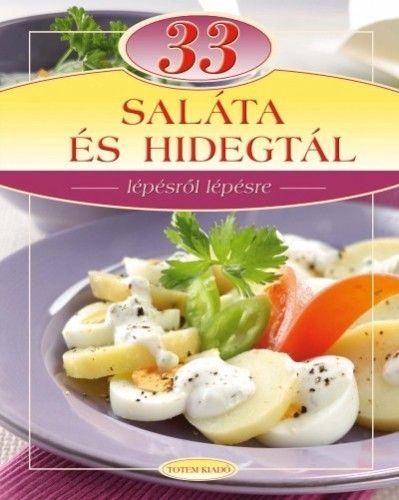 33 saláta és hidegtál