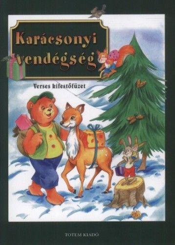 Karácsonyi vendégség - Verses kifestőfüzet