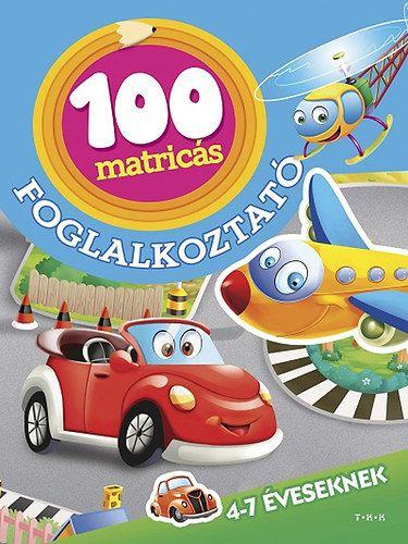 Járművek - 100 matricás