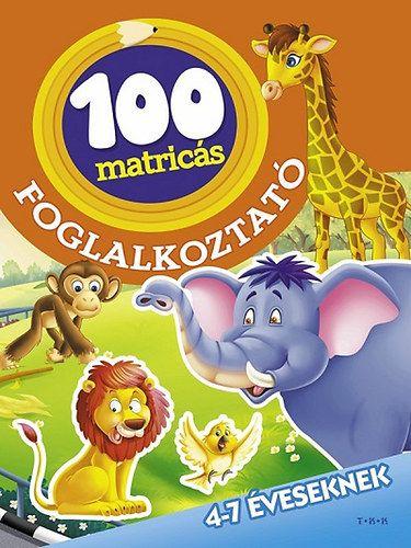 Az állatkertben - 100 matricás