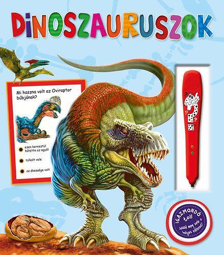 Dinoszauroszok - Lángelme professzorka -  pdf epub