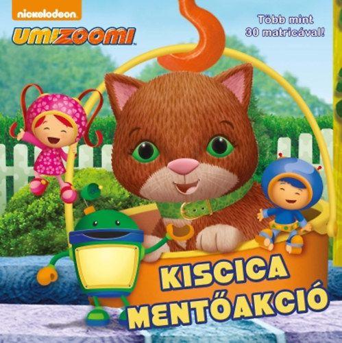 Umizoomi: Kiscica mentőakció - Több mint 30 matricával!