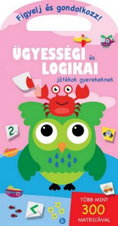 Ügyességi és logikai játékok gyerekeknek