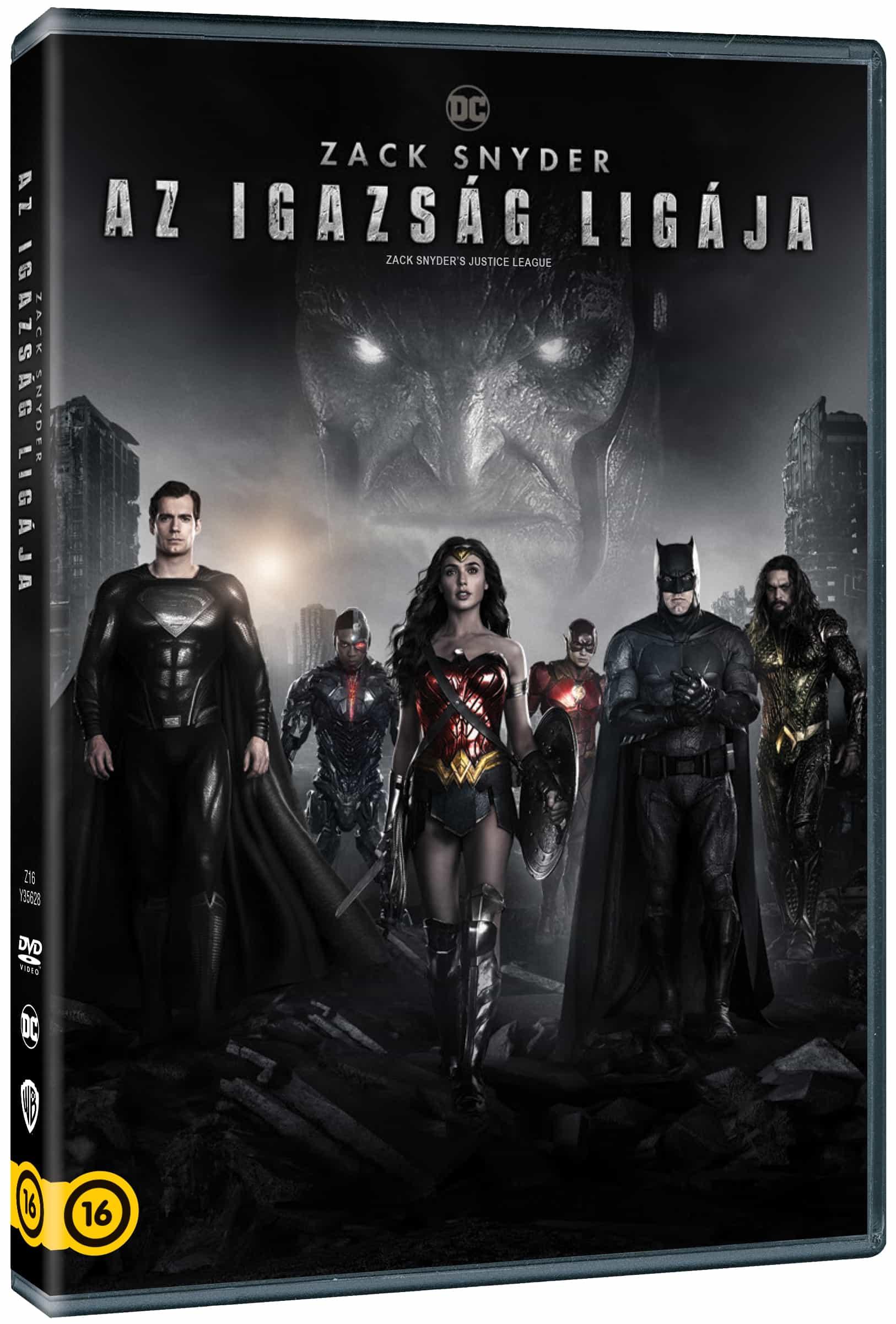 Zack Snyder: Az Igazság Ligája (2021) (2 DVD)