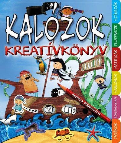 Kalózok kreatívkönyv