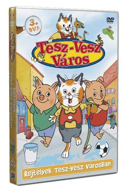 Tesz-Vesz város 3. - DVD