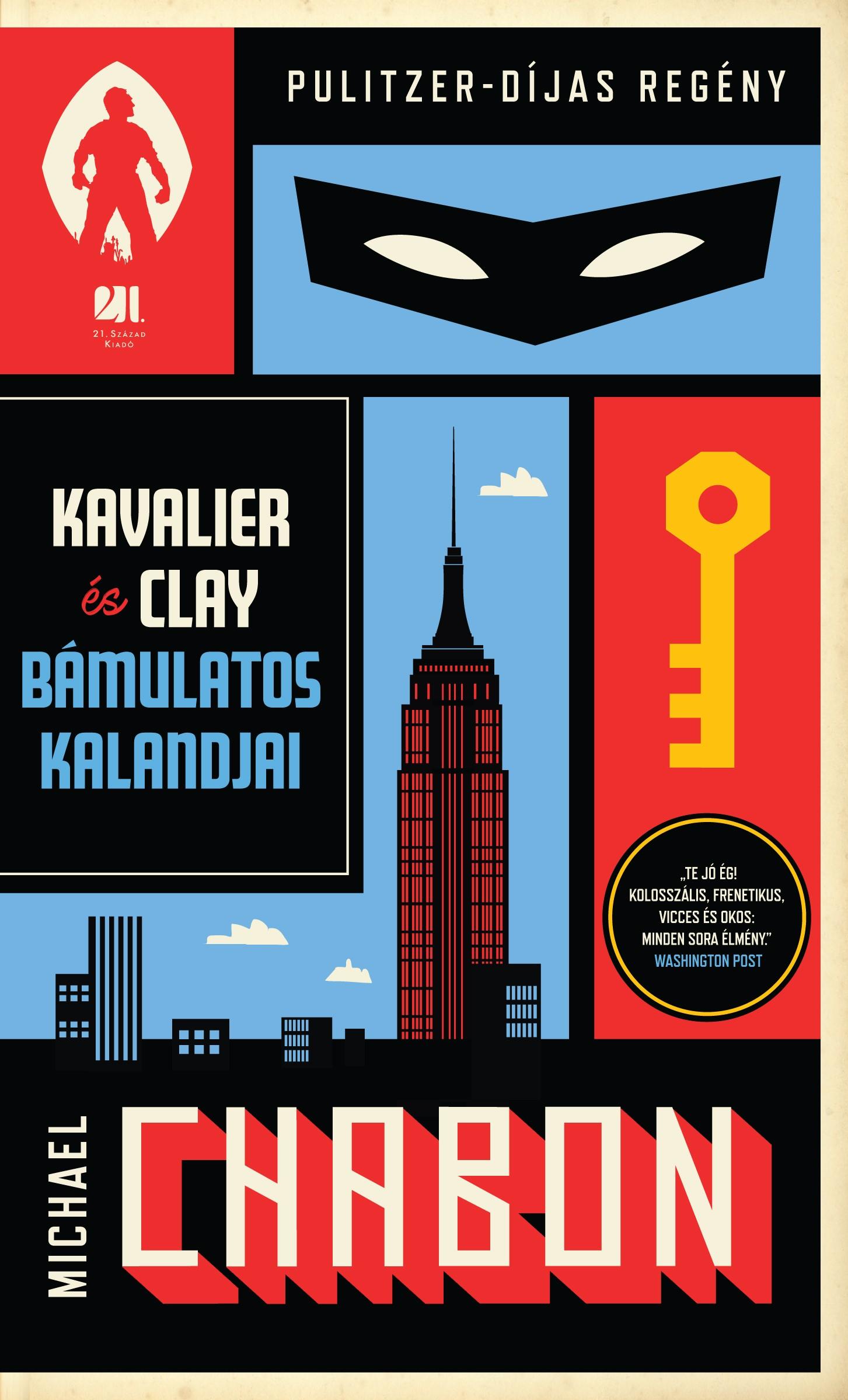 Kavalier és Clay bámulatos kalandjai I. és II. kötet