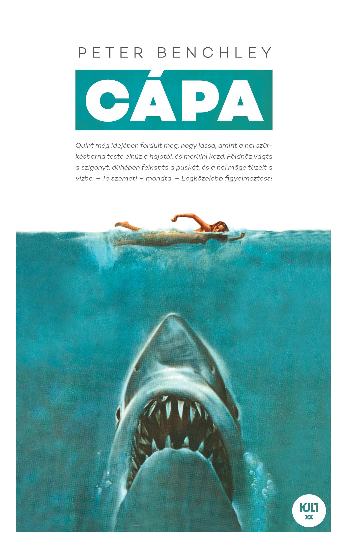 Cápa - Peter Benchley pdf epub