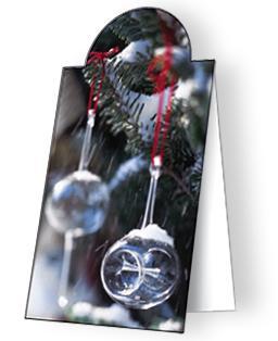 Karácsony - mágneses könyvjelző