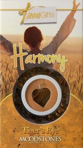 Gyógyító Kristályok Ajándékszett Karkötő és medál - Harmony, Harmónia, lelki béke Tigrisszem