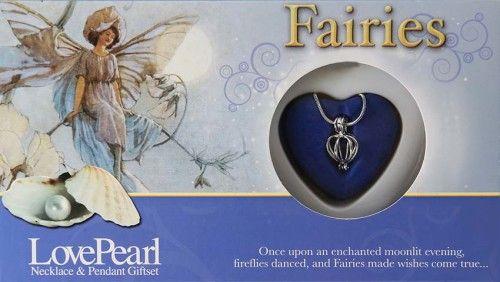 Igazgyöngy Ajándékszett - nyaklánc és medál - Fairies Tündér