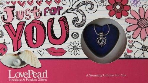 Igazgyöngy Ajándékszett - nyaklánc és medál - Just 4 U Csak Neked