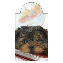 Kutya könyvön - mágneses könyvjelző