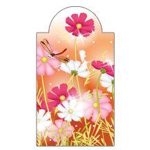 Virágok - mágneses könyvjelző