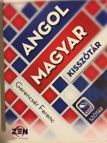 Angol-magyar és magyar-angol kisszótár
