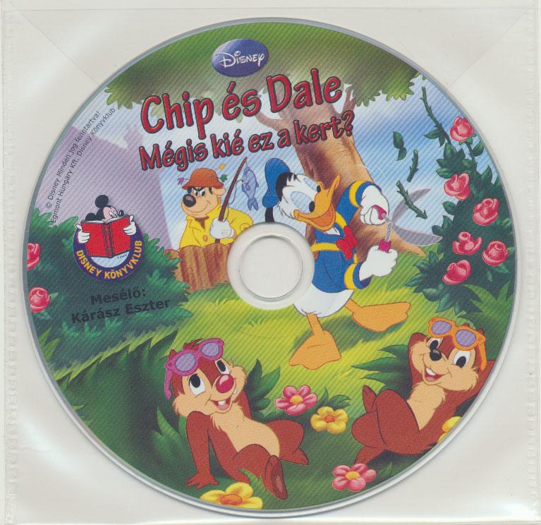 Chip és Dale: Kié is ez a kert? - Hangoskönyv