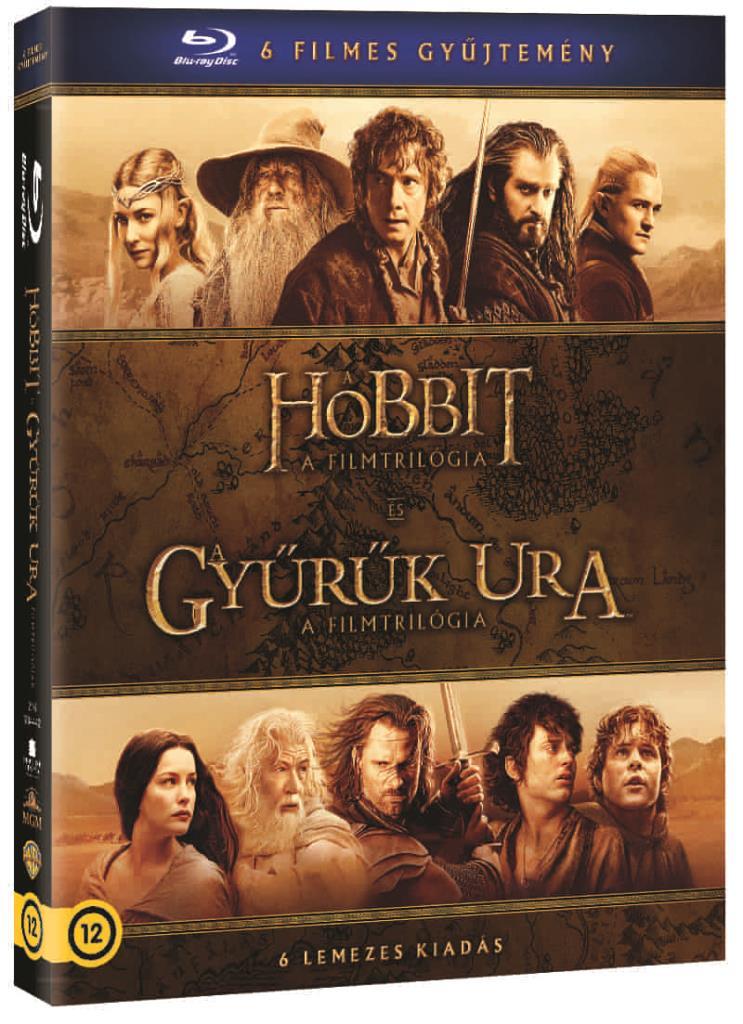 Középfölde DVD-gyűjtemény (6 DVD)