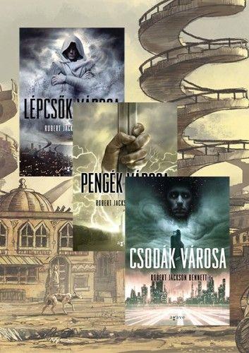 Isteni városok-trilógia - könyvcsomag