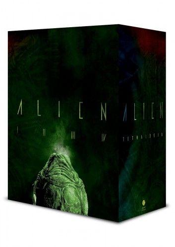 Alien-tetralógia - Díszdobozban - Alan Dean Foster pdf epub