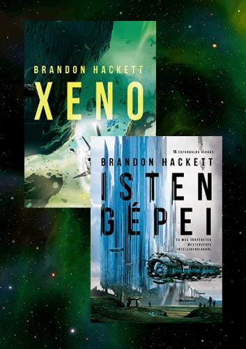 Xeno + Isten gépei - könyvcsomag - Brandon Hackett pdf epub