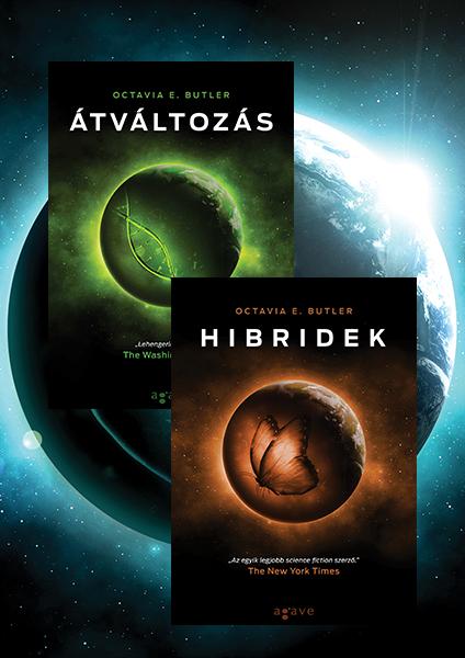 Átváltozás + Hibridek - könyvcsomag