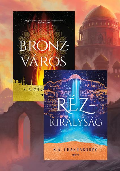 Bronzváros + Rézkirályság - könyvcsomag