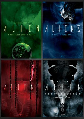 Alien-tetralógia - csomag