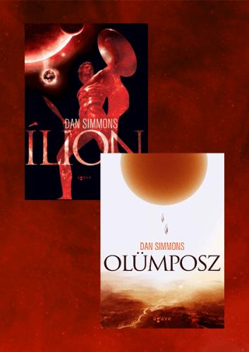 Ílion + Olümposz - könyvcsomag