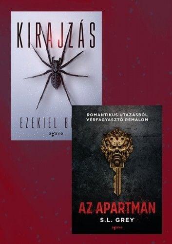 Ezekiel Boone - Kirajzás + Az apartman - Horror csomag 2.