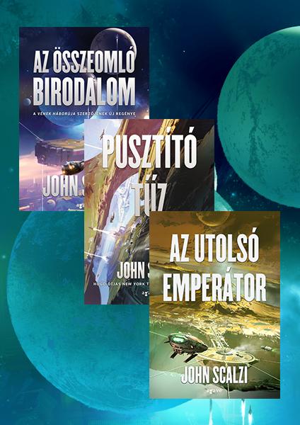 Az összeomló birodalom-trilógia - könyvcsomag