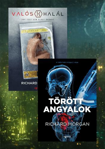 Valós halál (Netflix borítóval) + Törött angyalok - könyvcsomag