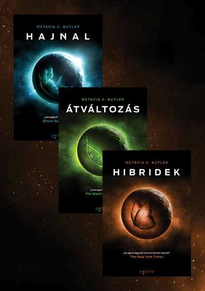 Hajnal + Átváltozás + Hibridek - könyvcsomag