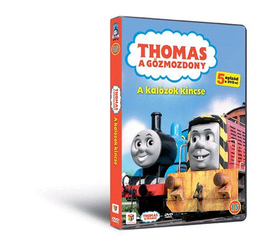 Thomas 15. - A kalózok kincse- DVD