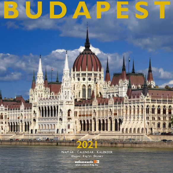 Budapest naptár 2021