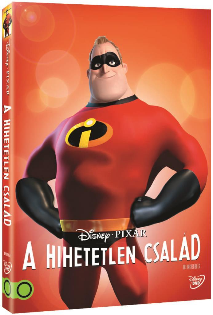 Hihetetlen család (O-ringes, gyűjthető borítóval) - DVD