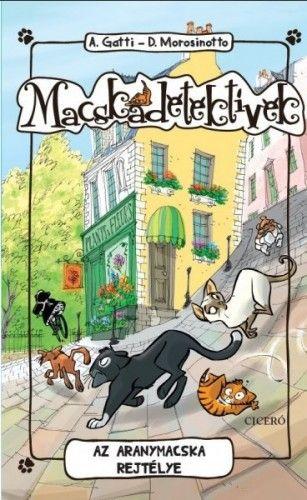 Macskadetektívek 3. Az aranymacska rejtélye