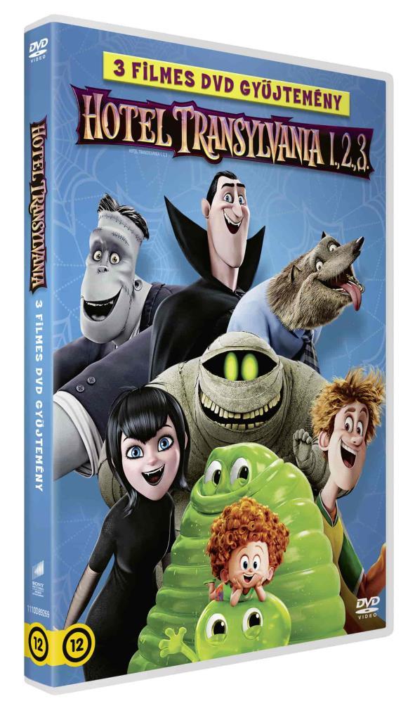 Hotel Transylvania 1-3. - DVD